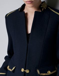 EMBROIDERED WOOL CARDIGAN - TRF - New this week - ZARA United States ($50-100) - Svpply