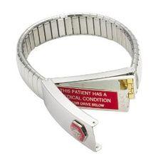 Bracelets Macx Usb Medical Id Bracelet Lds Autism