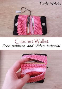crochet wallet free pattern