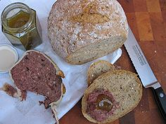 Green tomato jam and Hare pate (rabbit)