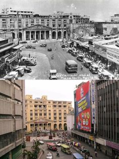 Philippines Culture, Manila Philippines, Then And Now Pictures, New Pictures, Senior Citizen Humor, Historical Pictures, City Buildings, Pinoy, Past