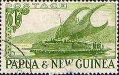Papua New Guinea 1952 SG 10 Lakatoi Boat Fine Used Scott 131 Other Papua New Guinea Stamps HERE