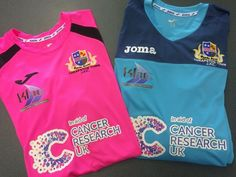 Featuring the Pink Fluor and Black Joma Champion III Jersey which was completed for a Junior Side based in Northamptonshire in October 2014. Complete with an embroidered badge and a big, bold sponsor logo, not only will this club be playing in style, but they are also raising money for a fantastic cause! We are proud to have played a part in that. If you think this could work for you as well as it has for these, check out our site now: http://www.mdhteamwear.co.uk/home/shirts/joma-shirts