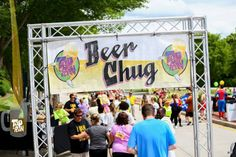 Summer road races for beer lovers. Pain now. Beer later.