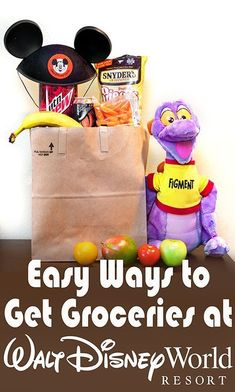How to get groceries delivered to you at Walt Disney World. (It's cheap and efficient!)
