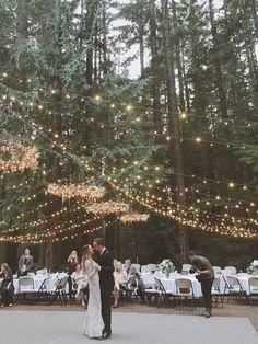 Decoração de casamento | Como usar luz de corda