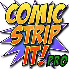 Comic Strip Es! pro 0,99€ Si una imagen vale más que mil palabras, una tira cómica, dice mucho más! Con Comic Strip It! puede hacer atractivas las tiras cómicas y story boards al instante, dondequiera que vaya.