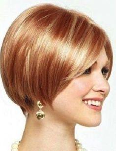Colore ramato per capelli 2014 su capelli corti