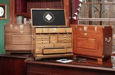 Fly tying chests