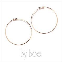 by boe バイボー【E496 MINI PEARL】Wave Shape Threader Mini Earrings, with White Pearls ウェイブシェイプスレダーミニイヤリング ピアス