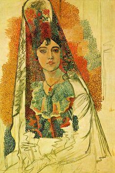 La Salchichona 1917 © Pablo Picasso