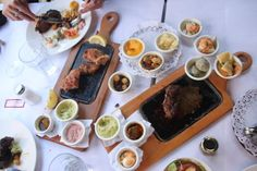 to die for steak. get the proveleta also. Sweet Bread, Carne, Steak, Mexican, Beef, Ethnic Recipes, Memories, Nice, Food