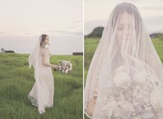 Delightful Diptych - adore this grassy location, processing and combo of shots: Studio Impressions - QLD
