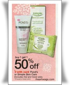 free simple cleansing wipes at walgreens this week!      details here: http://www.iheartwags.com/2012/11/1209-1215.html#simple