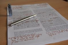 Editing and the Writing Craft. Tips From An Editor | The Creative Penn
