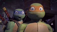 That's right Nicksters, be stunned by brand NEW Teenage Mutant Ninja Turtles episodes! Tmnt Mikey, Tmnt Leo, Ninja Turtles Art, Teenage Mutant Ninja Turtles, Tmnt Comics, Tmnt 2012, Cute Gif, Fandoms, Disney Characters