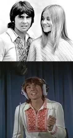 """Getting Davy Jone"" (Season 3, Episode 1; December 10, 1971) — Maureen McCormick as 'Marcia' & Davy Jones in The Brady Bunch (1969-74, ABC)"