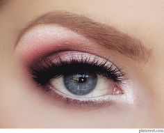 A soft, subtle and great color selection for her blue/grey eyes. As a permanent cosmetic specialist, I can appreciate this