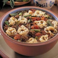 Tortellini Soup Recipe | Taste of Home Recipes