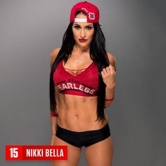 Nikki Bella listed as having the best abs.