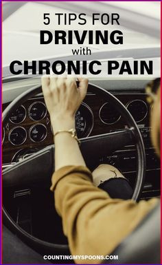 When you live with chronic pain, driving can make it worse. 5 Tips for reducing pain while driving with chronic pain Chronic Fatigue Syndrome, Chronic Illness, Chronic Pain, Endometriosis, Rheumatoid Arthritis, Long Relationship Quotes, 2015 Quotes, Quotes Quotes, Best Friend Poems