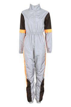 Hazmat Suit, Color Blocking, Colour Block, Catsuit, Boohoo, Work Wear, Lounge Wear, Rompers, Plus Size