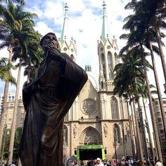 #catedral #sé #viradacultural (em São Paulo Cathedral)