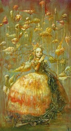 Art… Alexander Dolgikh---she's in a world of shells