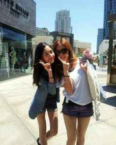 Danee with Hyomin