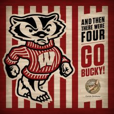 Go Bucky!! Final Four games are tomorrow evening and Wisconsin Cheese is cheering on the UW Men's Basketball team! Loud and proud :)