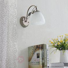 Piękna lampa ścienna Michalina w stylu klasycznym 9620775