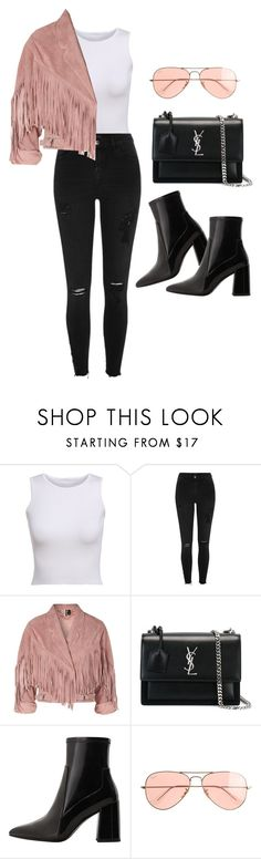 """Untitled #5066"" by lilaclynn ❤ liked on Polyvore featuring River Island, Topshop, Yves Saint Laurent, MANGO and J.Crew"