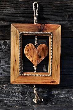 RAJCAN-HANDMADE / Srdce v ramiku