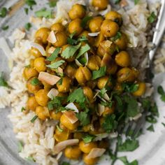 Turmeric Chickpeas with Ginger and Coconut | Naturally Ella