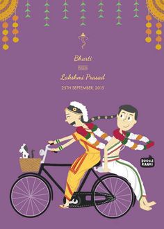 Unique Wedding Invitation Ideas 2019 top 6 alluring marriage card Invitation Ideas For Shaadi whatsup traditional filmy poster type cards trendy designs etc Quirky Wedding Invitations, Illustrated Wedding Invitations, Indian Wedding Invitation Cards, Indian Invitations, Invites, Wedding Envelopes, Marriage Invitation Card, Marriage Cards, Engagement Invitation Cards