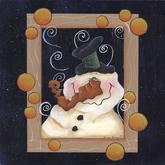 Hiver & Noel  country & folk art B