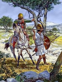 Hellenistic mercenaries end of IV BC