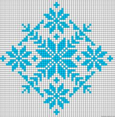 Discover thousands of images about Winter design perler bead pattern Bead Loom Patterns, Beading Patterns, Embroidery Patterns, Cross Stitch Charts, Cross Stitch Designs, Cross Stitch Patterns, Knitting Charts, Knitting Stitches, Cross Stitching