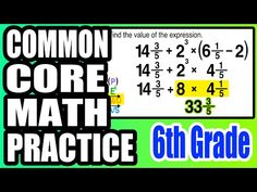 ✪ Practice with Order of Operations | 6th Grade Common Core Math - YouTube