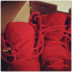 NIKE AIR YEEZY2 RED #sneaker