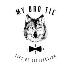 My Bro Tie by Peter Crafford, via Behance Bro, My Design, Ties, Behance, Tie Dye Outfits, Neck Ties, Tie, Bridge