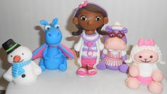 doc mcstuffins, cake, cupcake, fondant, birthday, party, doctor, etsy