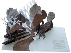 Pop-up book by Louise Rowe - Red Riding Hood