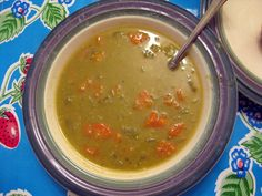 thistlebear: Slow-cooker split-pea soup recipe
