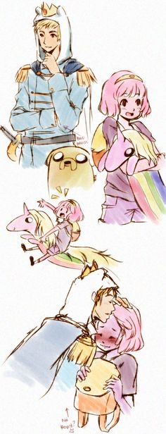 Reverse Finn/PB - this would be adorable <3