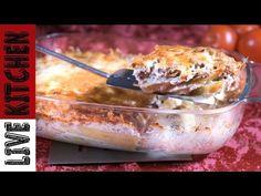 Με λίγες Πατάτες και λίγο Κιμά μπορείς να κάνεις Θαύματα!!!How To Bake Minced Meat Potato Casserole - YouTube Potato Casserole, Kitchen Living, Quiche, Ice Cream, Chicken, Meat, Baking, Desserts, Recipes