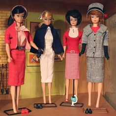 Check out these classic career styles! Has anyone rocked these vintage styles to work? #vintage #chic
