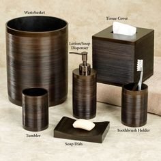 Bathroom Accessories Sets Oil Rubbed Cbed bronze