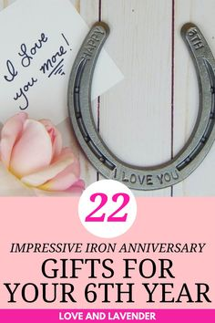 We believe that every wedding anniversary deserves to be special and unique. Anniversaries are a time to celebrate the union you have built together. We found some impressive gift ideas for your 6th anniversary. See it here! #anniversarygifts #weddinganniversary #weddinganniversarygifts