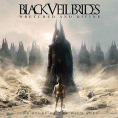 Black Veil Brides Wretched and Divine 2013 album cover  Best album.. omg<33